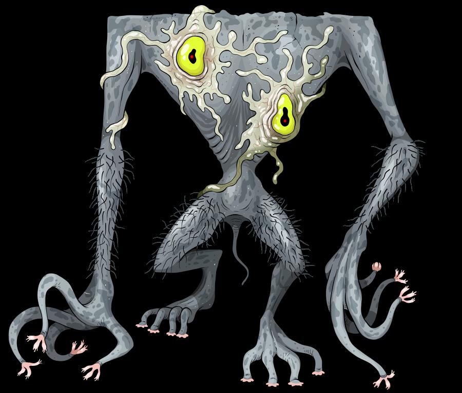 Mortasheen - Amoebeyes by scythemantis