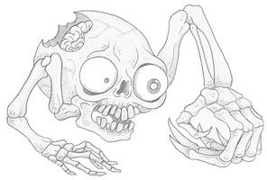 Mortasheen - Coccyx by scythemantis