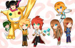 Tales of the Abyss Chibis