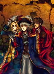 Bad Friend Trio by kaiser-mony