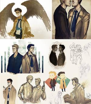 supernatural doodles
