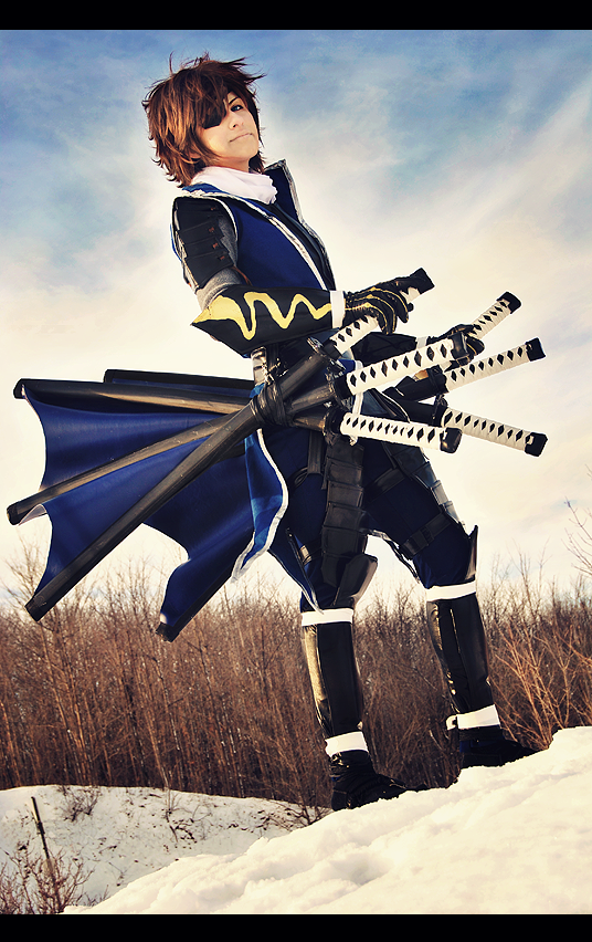 Date Masamune Cosplay by kaiser-mony