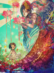 We Are the Lotus Kids by kaiser-mony