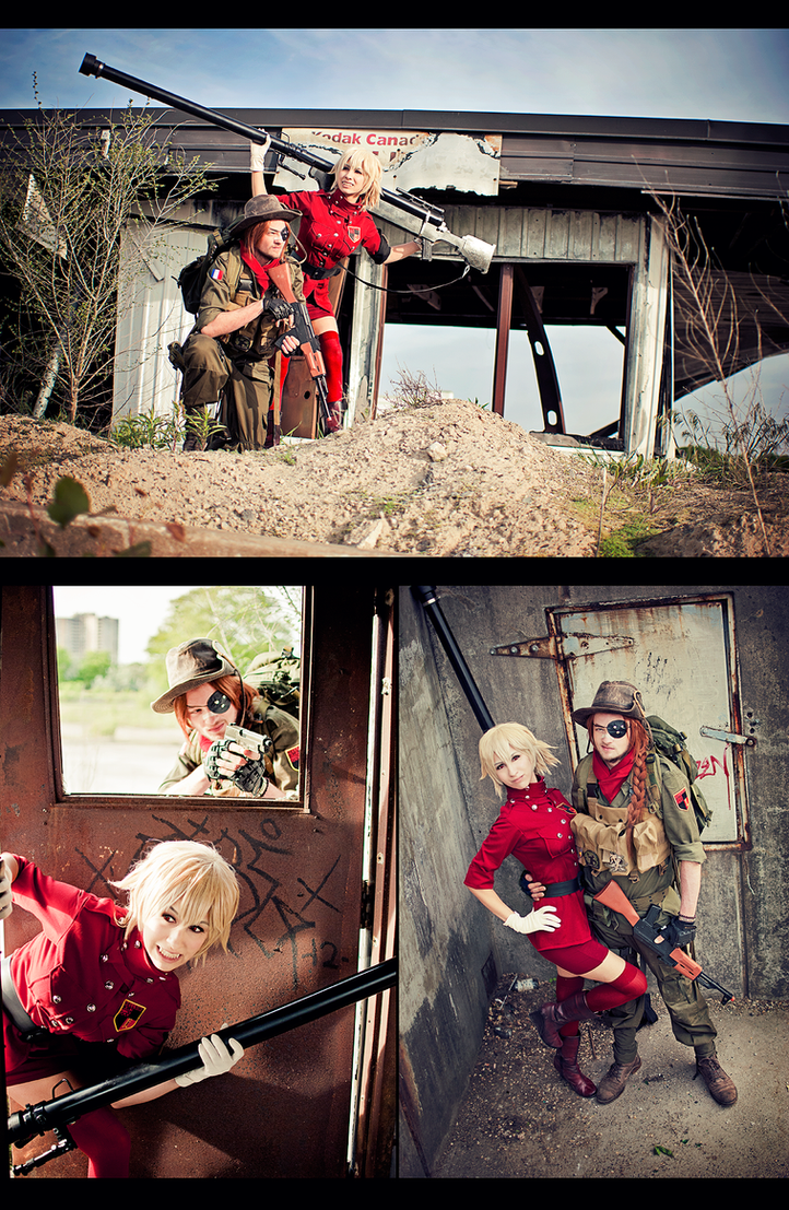Hellsing Cosplay by kaiser-mony