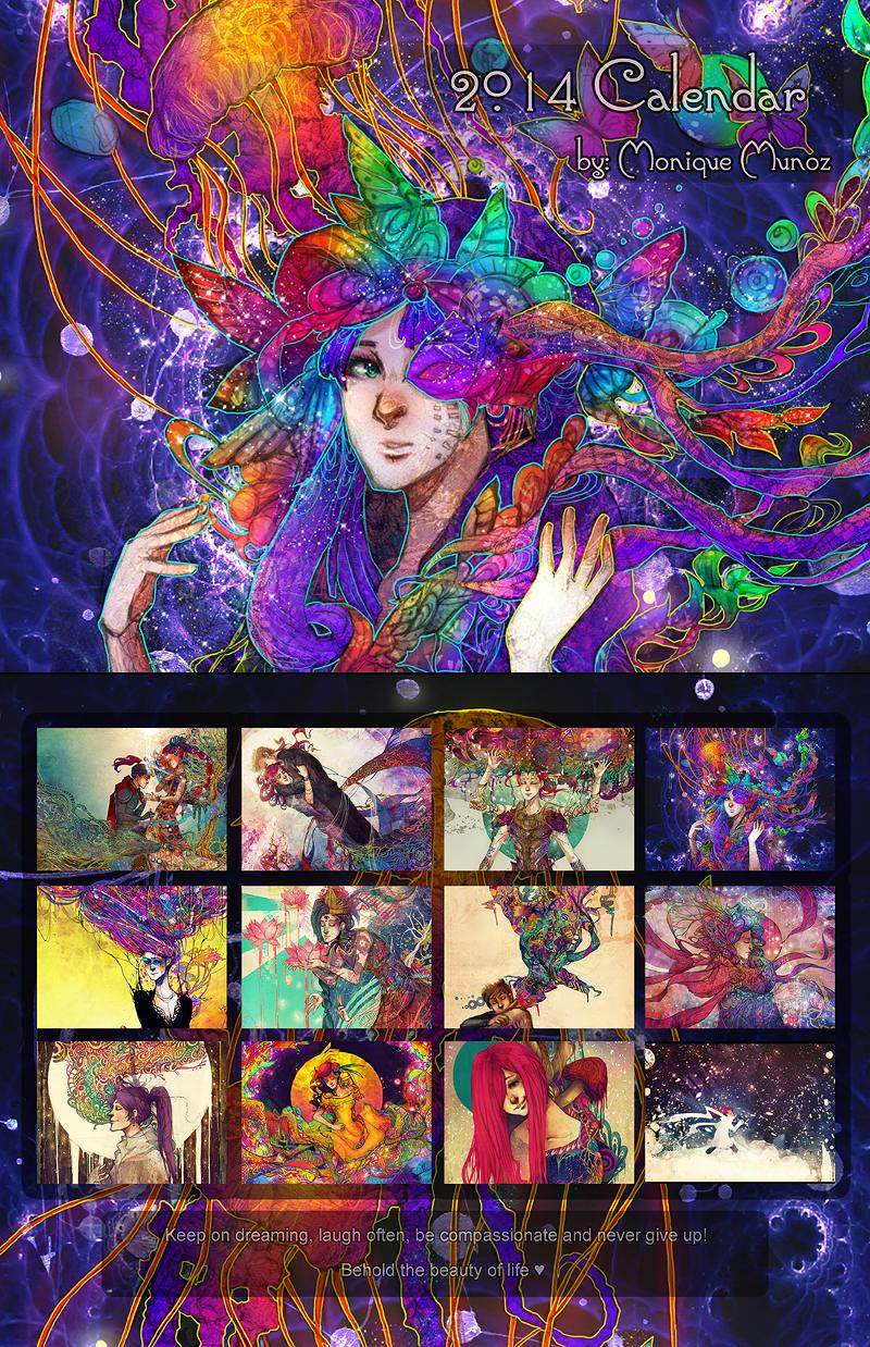 2014 Calendar by kaiser-mony