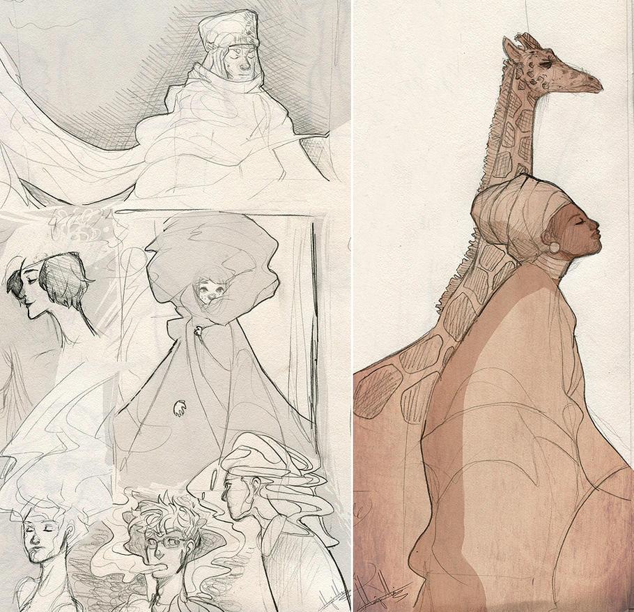 Sketchbook Stuff by kaiser-mony