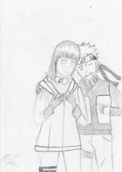 Naruto and Hinata by Protonpen