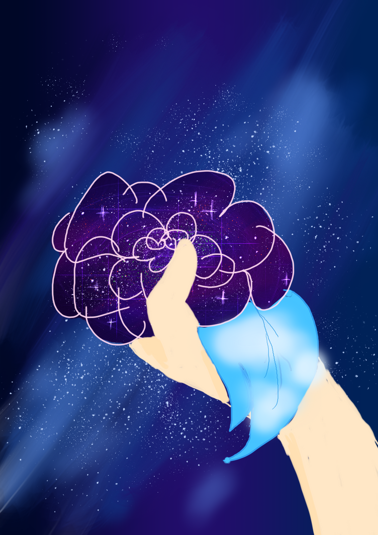 Galaxy Rose by Chikoritasareawesome