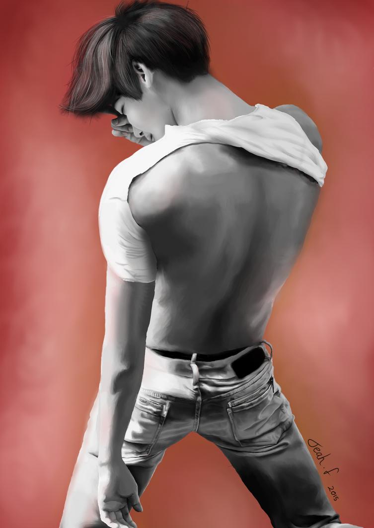 Lee Jong Suk Fanart by Tea-ah