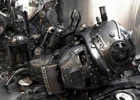 Dismantled Robot by Zilochius