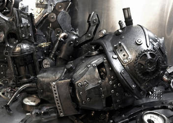 Dismantled Robot