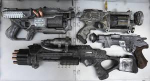 Dieselpunk Guns