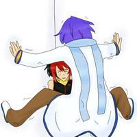 Cicada Block: Kai x Kaito by AkiraChal