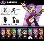 Super Smash Bros. Barbara by P-Fritz