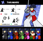 Super Smash Bros. Takamaru by P-Fritz