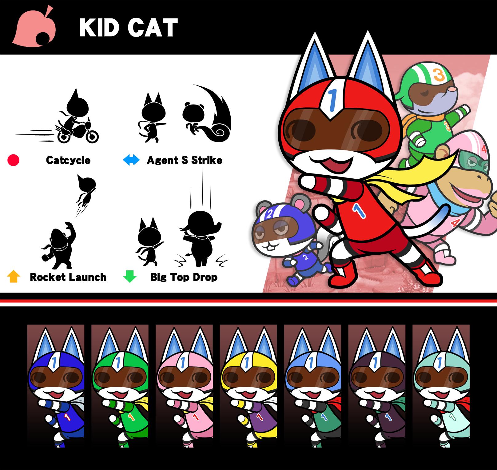 Super Smash Bros Kid Cat By P Fritz On Deviantart