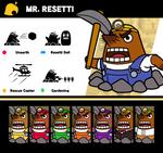 Super Smash Bros. Mr. Resetti