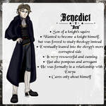 YOUNG HERETIC    Benedict    2021