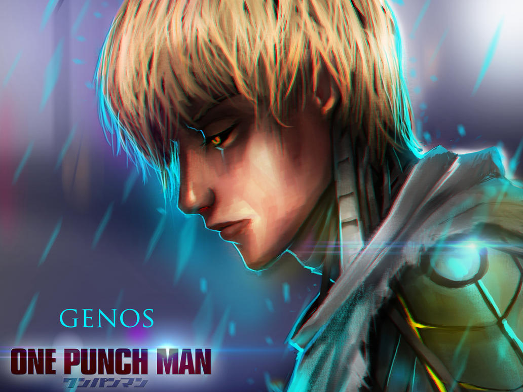one punch man-genos by stormglider