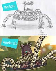 BOTW: Guardian by S-A-R-C