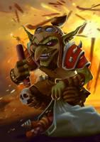 Goblin Saboteur by Coinimus