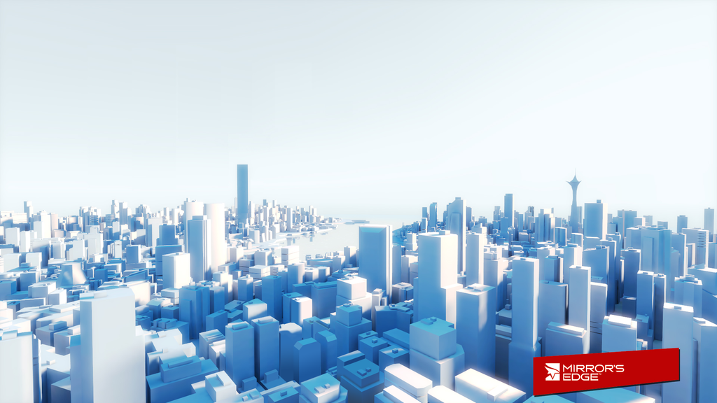Mirrors Edge City by TedFourSeventeen