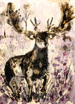 Ink and Tea Deer