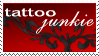 Tattoo-junkie Stamp