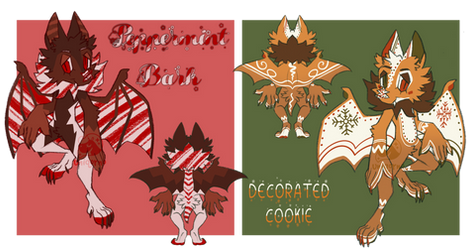Christmas bats (open for offers)