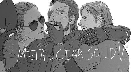 commission : MGSV by rimiter