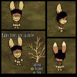 Don't Starve Custom Char Commission by XenoMind