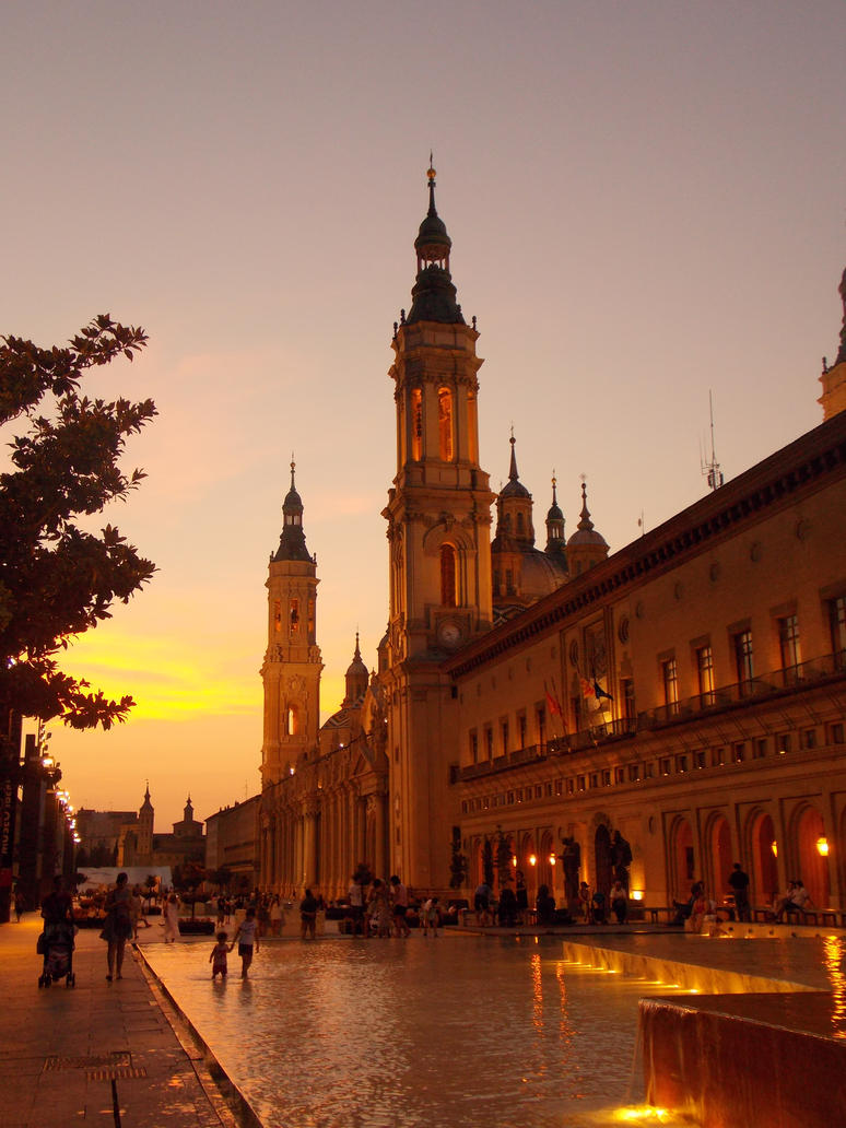 Basilica Cathedral of Our Lady of the Pillar by Cathysa