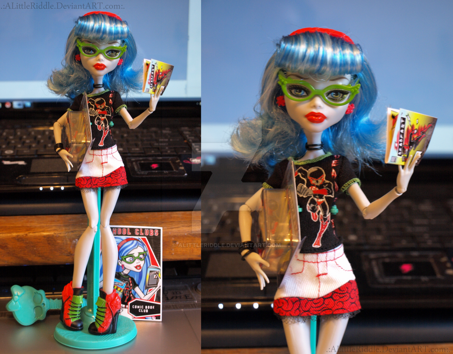 .:Ghoulia Fashion Pack:. by ALittleRiddle