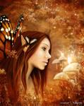 Autumn Fairytale by 3ddream