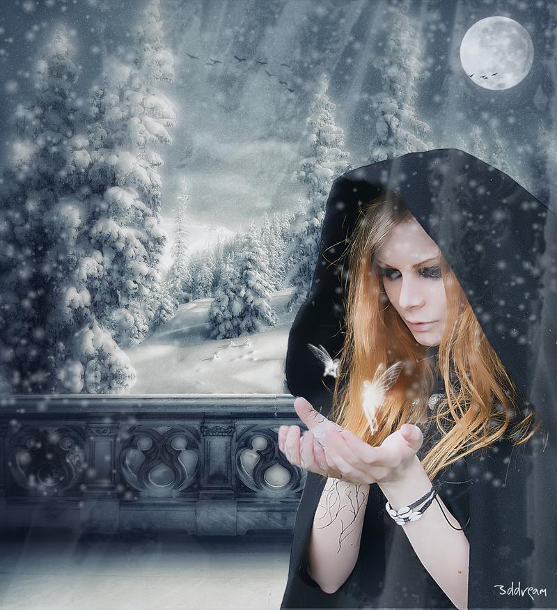 ..Snow Goddess.. by 3ddream