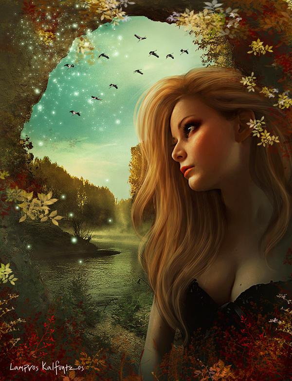 Lost in beauty by 3ddream
