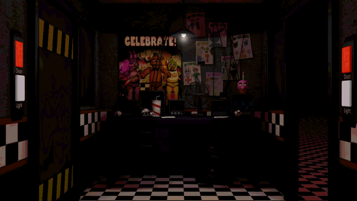 Fnaf Office Model Test By Gabocoart On Deviantart