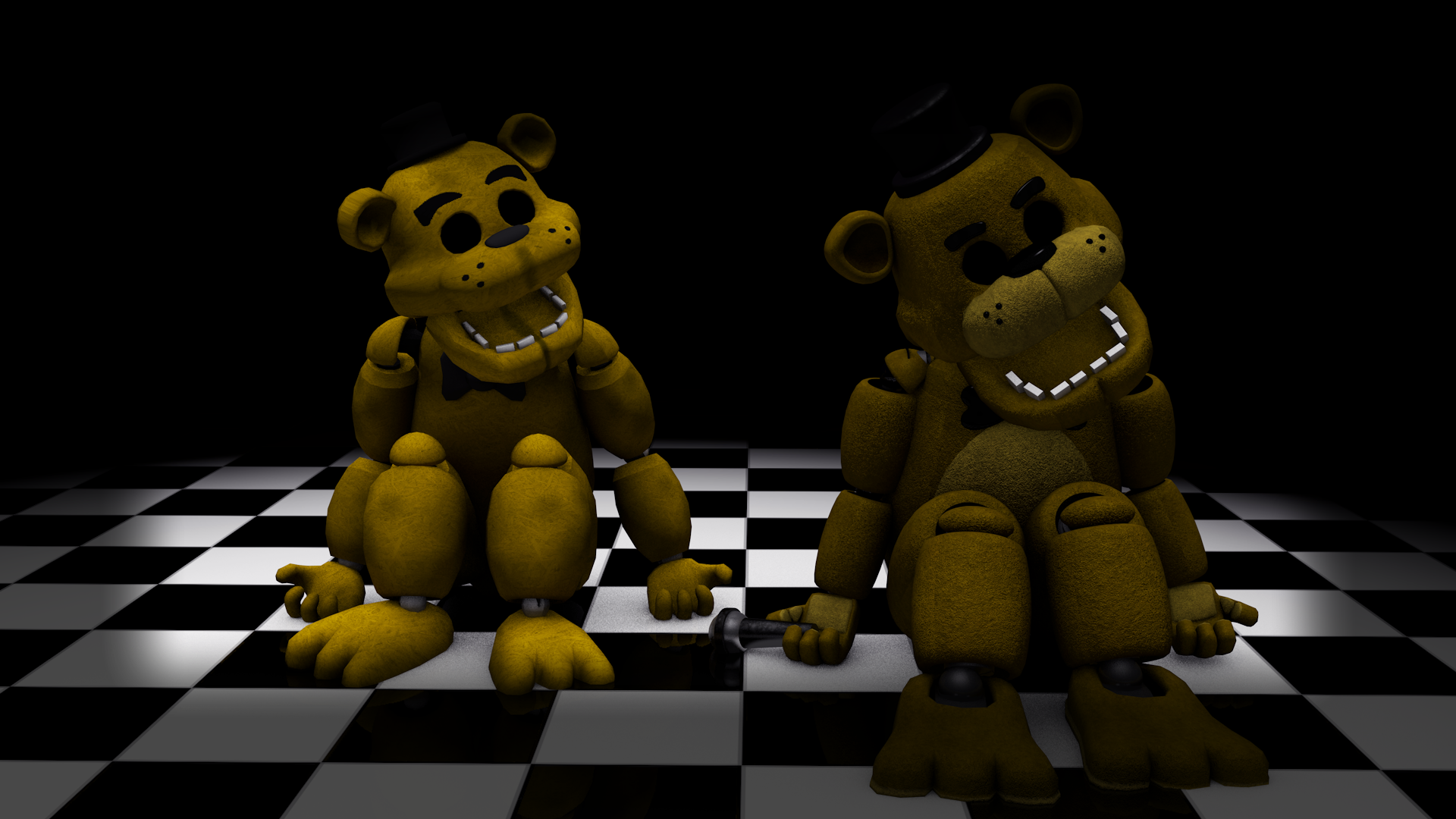 Golden Freddy Model - 0425