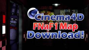 Cinema4D Freddy Fazbear Pizza Download!! by GaboCOart