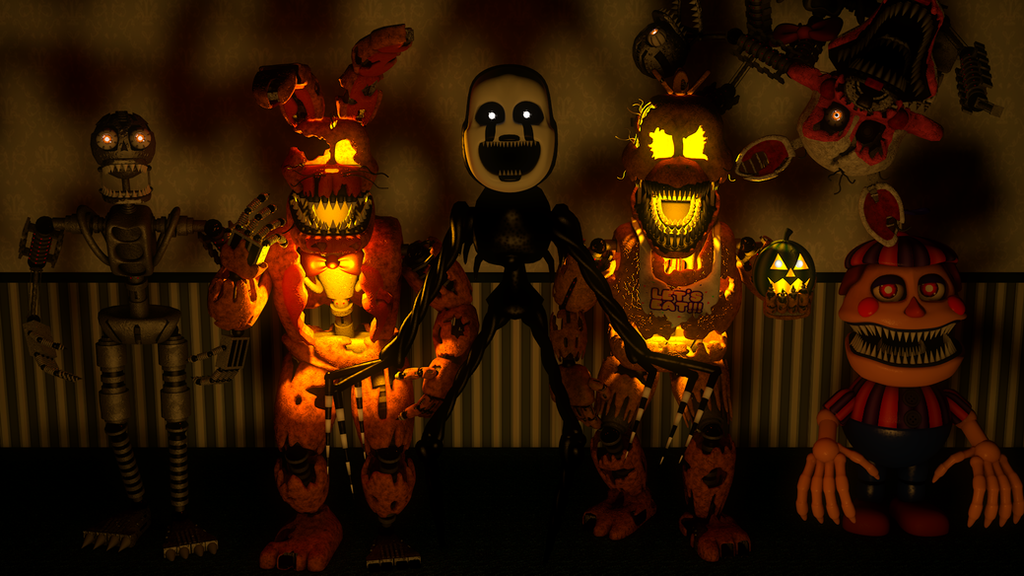 Five Nights at Freddy's favourites by ZeldaFan201 on DeviantArt