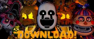 Cinema4D | Blender FNaF4 Halloween Pack DOWNLOAD!! by GaboCOart