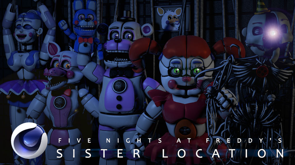 how to make fnaf sister location in minecraft