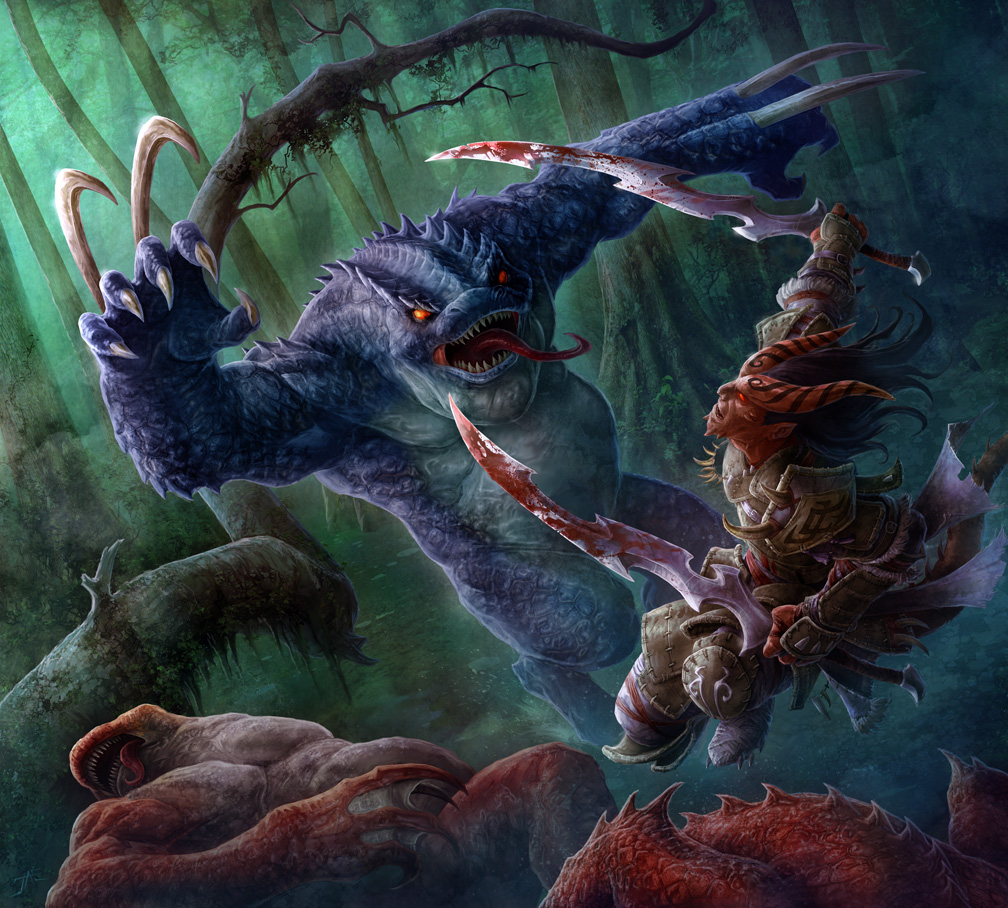 Swamp Predator by JasonEngle