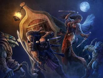 Night Raid by JasonEngle