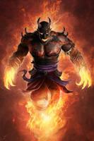 Efreet Warlord by JasonEngle