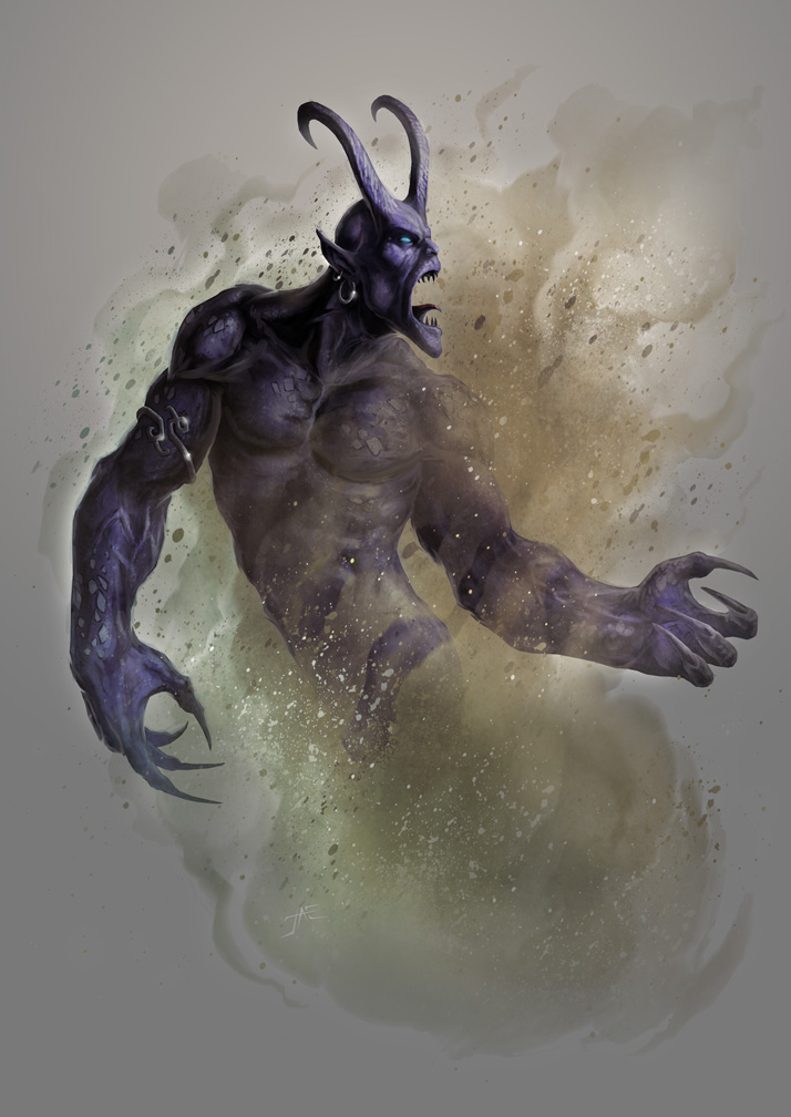 Dark Jinn by JasonEngle