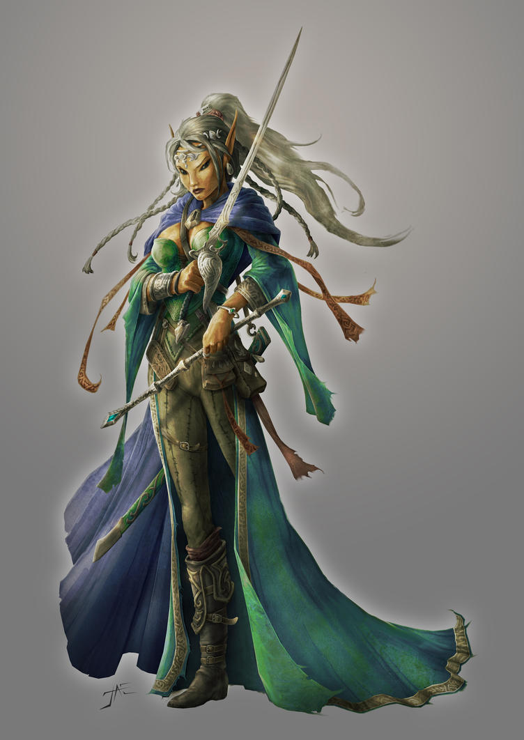 Elindria The Enchantress by JasonEngle