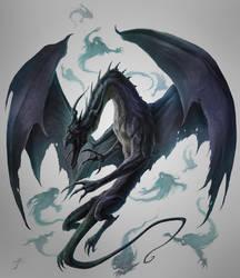 Umbral Dragon unleashed by JasonEngle