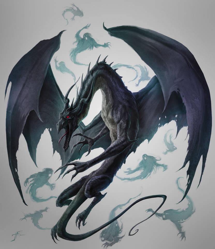Umbral Dragon unleashed by JasonEngle on DeviantArt