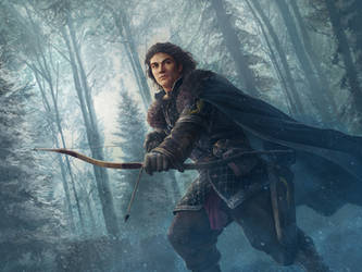 Theon Greyjoy by JasonEngle